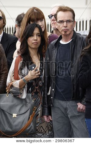 LOS ANGELES - FEB 6: Billy Bob Thornton; wife at a ceremony where rock band 'America' in honored with a star on the Hollywood Walk of Fame in Los Angeles, California. Feb 6, 2012