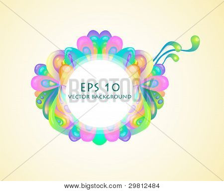 Vector  Bubble  Background