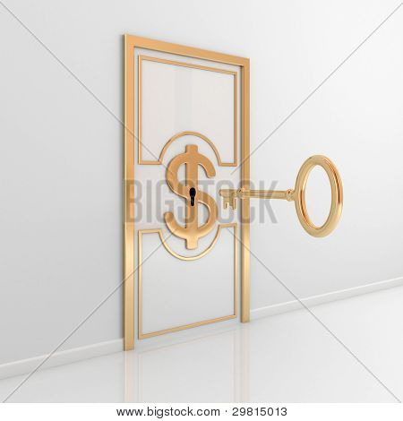 Abstract door