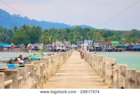 Koh Libong Pier