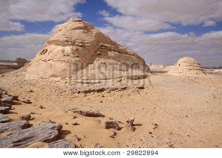 Whitte desert