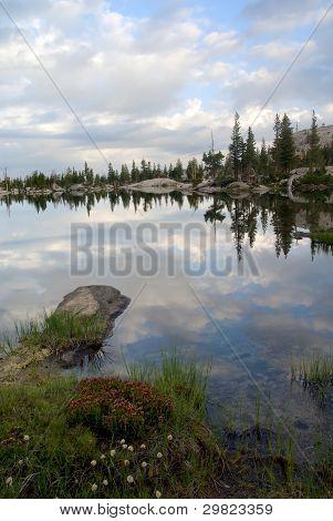 Sierra Nevada Lake Reflection
