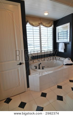 Beautiful Luxury New Model Home Bathroom
