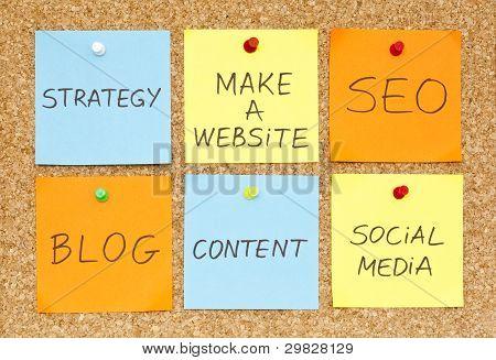 Hacer un sitio web