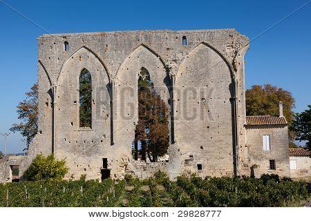 Ruins In Saint Emilion