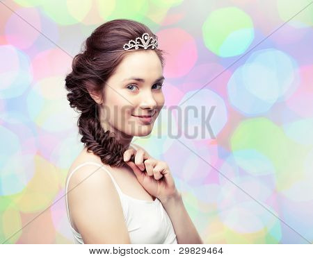 Girl In A Diadem