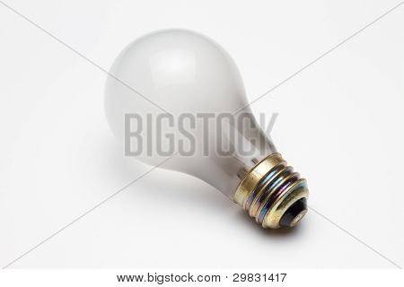 Burn-out light bulb