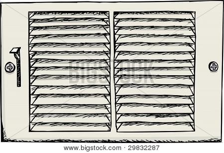 Air Duct Register