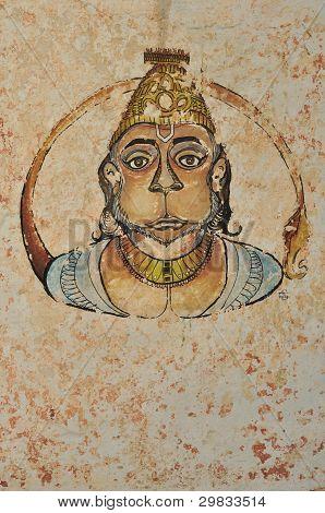 Hanuman portrait
