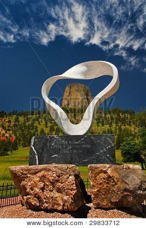 Kreis der Heiligen Rauch Skulptur