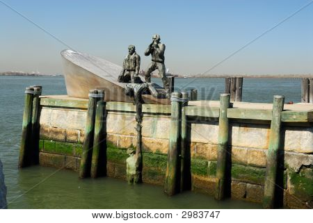 American Merchant Marines Memorial In New York