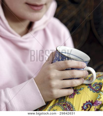 Woman With Cofee