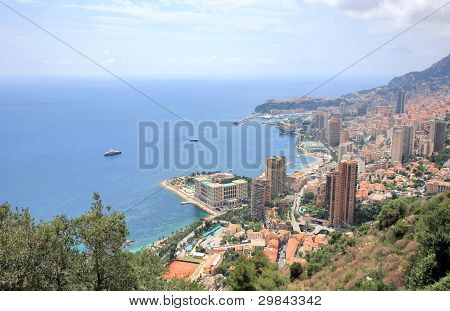 Panorama Monte Carlo Monaco