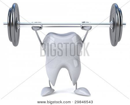 Diente fuerte