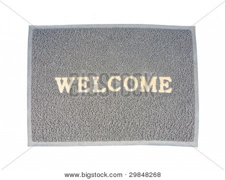 Old Welcom Doormat