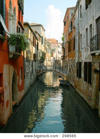 Calle de Venecia. Italia