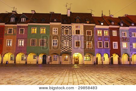 Old Market Square In Poznan, Poland