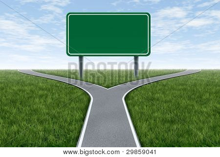 Road Sign Metaphor