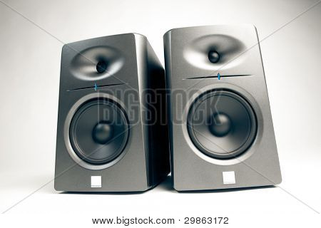 studio audio monitors - high-end sound speakers