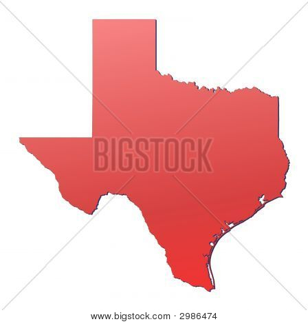 Mapa do Texas (EUA)