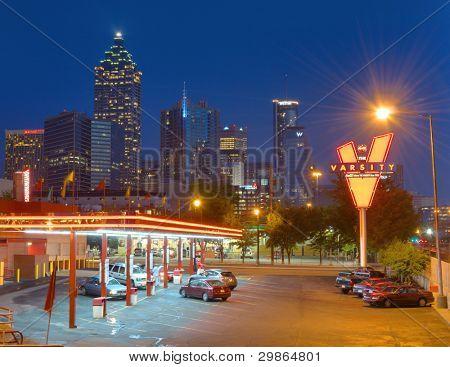 ATLANTA, GEORGIA - MAY 10: The landmark fastfood restaurant
