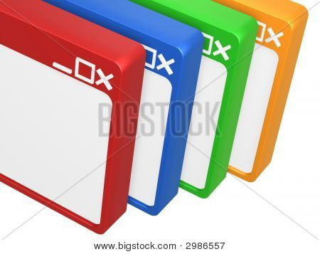 Colorful Blank Browser