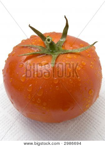 Fresh Ripe Single Tomato