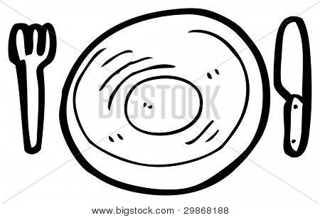 Empty Plate Cartoon empty plate cartoon St...