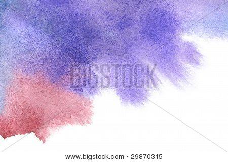 Aquarela abstrata pintados à mão segundo plano
