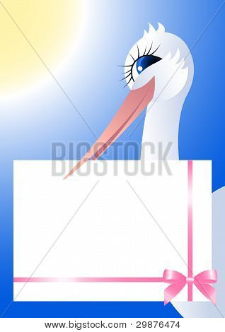 Stork and framework