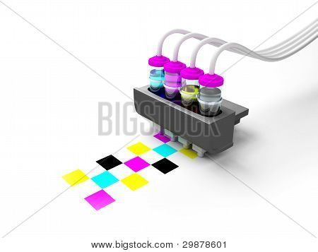 cmyk print cartridge