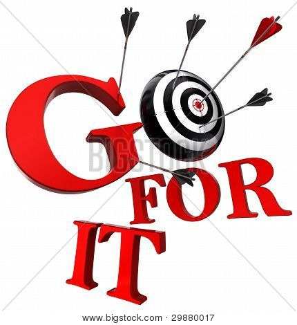Go For It Red Words And Conceptual Target