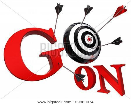 Go On Red Words And Conceptual Target