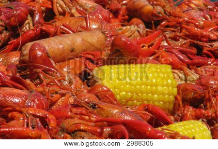 Crawfish Corn And Sausage