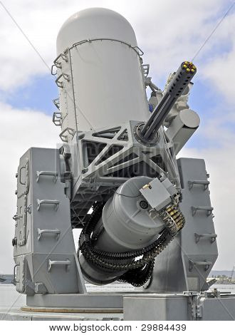 Naval 20mm Close-in Weapon System (CIWS)