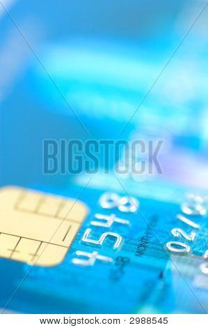 Close-Up de cartão de crédito