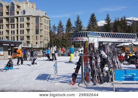 Ski Resort, Whistler, Canadá
