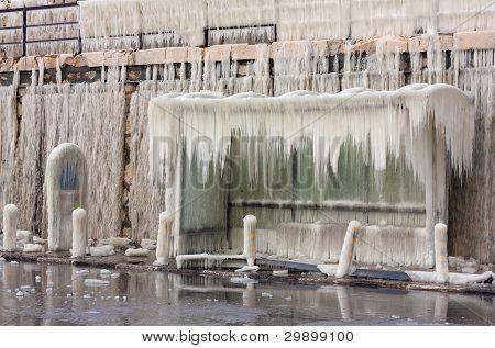 Frozen Bus-stop