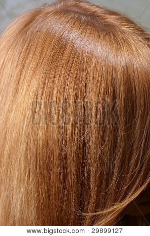 red chestnut hair
