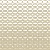 Golden Vector Halftone Grid Seamless Pattern. White And Gold Texture With Lattice, Net, Mesh, Diamon poster