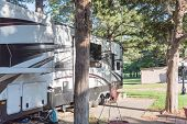 Recreational Vehicles Rv And Camper Park Near Dallas, Texas poster