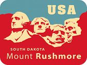 picture of mount rushmore national memorial  - Mount Rushmore National Memorial - JPG