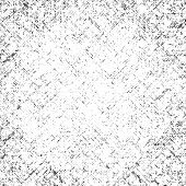 Vector Textured Square Scratched Black-white Abstract Grunge Background. Black Scratches On A White  poster