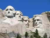 pic of mount rushmore national memorial  - Scenic View of Mount Rushmore - JPG