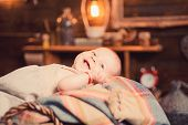 Our Little Baby. Sweet Little Baby. New Life And Baby Birth. Portrait Of Happy Little Child. Small G poster