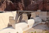 picture of engineering construction  - Hoover Dam - JPG