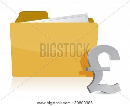 Pound Sign And Folder