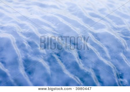 Blue Ice Waves