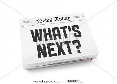 What's Next Headline