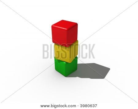 Tower From Building Blocks